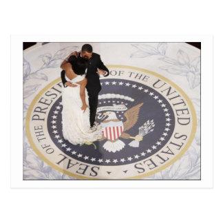 Michelle and Barack Obama Postcard