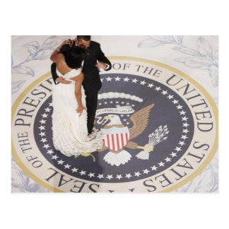 Michelle and Barack Obama Postcard