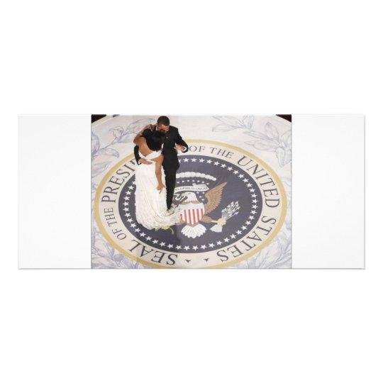 Michelle and Barack Obama Rack Card