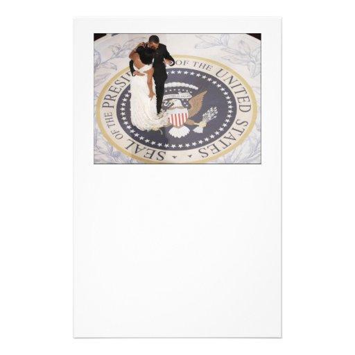 Michelle and Barack Obama Stationery