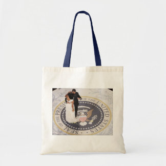 Michelle and Barack Obama Tote Bag
