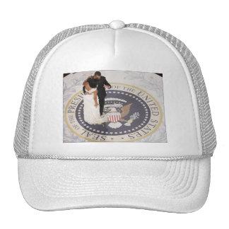 Michelle and Barack Obama Trucker Hat