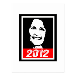 MICHELLE BACHMAN 2012 POSTCARD