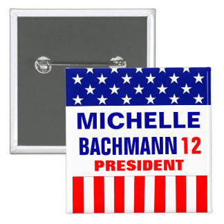 Michelle Bachmann 2012 Button