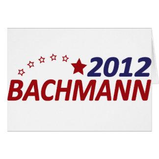 Michelle Bachmann 2012 Card