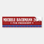Michelle Bachmann 2012 Etiqueta De Parachoque