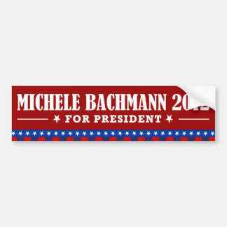 Michelle Bachmann 2012 Pegatina Para Auto