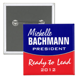 Michelle Bachmann 2012 Pinback Button