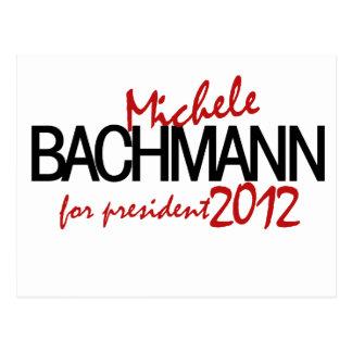 Michelle Bachmann 2012 Postcard