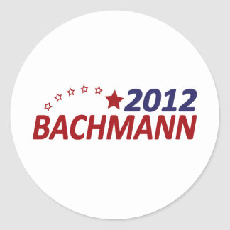 Michelle Bachmann 2012 Classic Round Sticker