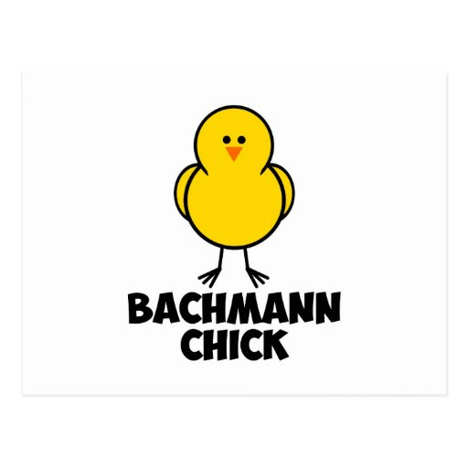 Michelle Bachmann Chick Post Cards