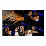 Michelle & Barack Obama Love Post Cards