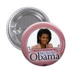 Michelle - botón pin redondo de 1 pulgada