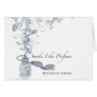 Michelle Cross - Smoke Like Perfume CD Cover Card