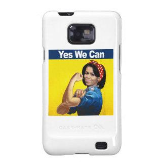 MICHELLE el REMACHADOR - SÍ NOSOTROS CAN.png Samsung Galaxy S2 Funda