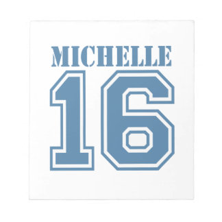 MICHELLE IN 2016.png Memo Pad