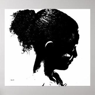 Michelle in Profile Poster
