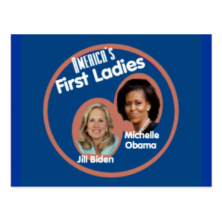 Michelle Jill First Ladies Postcard