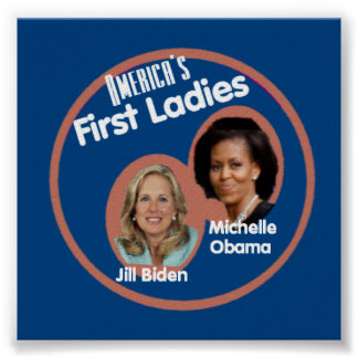 Michelle Jill First Ladies Poster