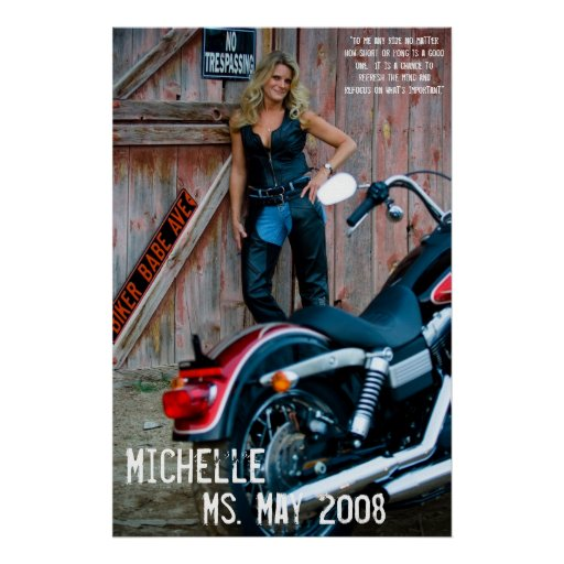 Michelle, Ms. May 2008 Print