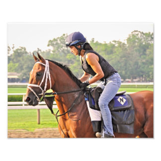 Michelle Nihei on opening day at Saratoga Photo