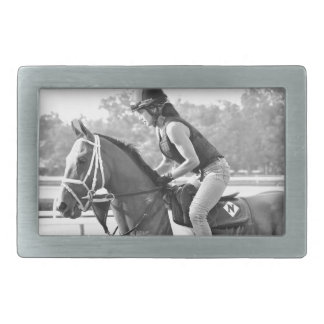 Michelle Nihei Training on Opening Day at the Spa Belt Buckles