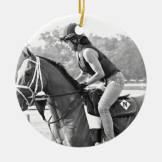 Michelle Nihei Training on Opening Day at the Spa Christmas Tree Ornament