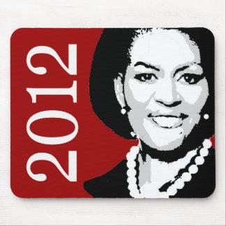 Michelle Obama 2012 Tapetes De Ratón