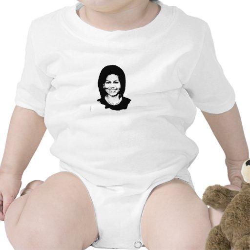Michelle Obama 2016 Baby Creeper