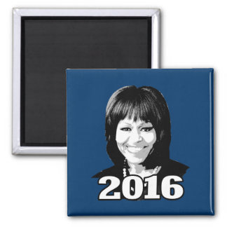 MICHELLE OBAMA 2016 Candidate Refrigerator Magnets