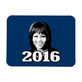 MICHELLE OBAMA 2016 Candidate Rectangular Magnets