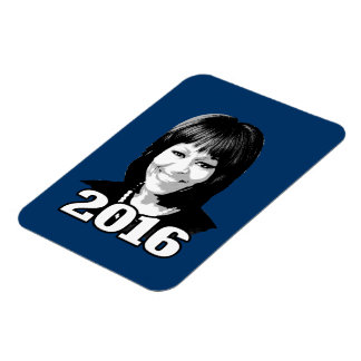 MICHELLE OBAMA 2016 Candidate Flexible Magnet