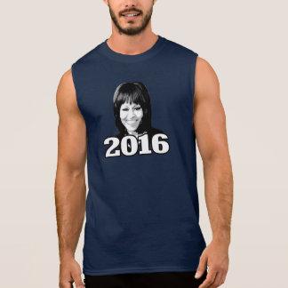 MICHELLE OBAMA 2016 Candidate Sleeveless T-shirt