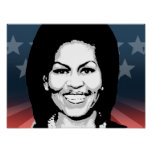 Michelle Obama 2016 Impresiones