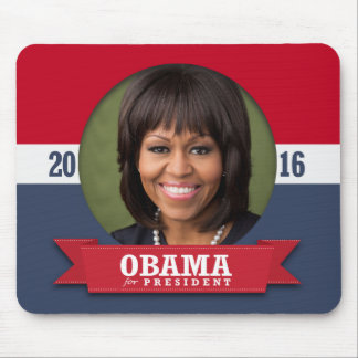MICHELLE OBAMA 2016 MOUSE PADS