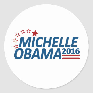 Michelle Obama 2016 Pegatina Redonda
