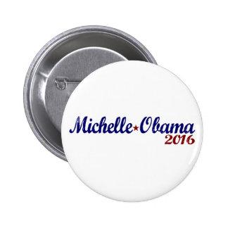 Michelle Obama 2016 Pin Redondo De 2 Pulgadas