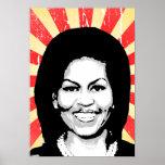 Michelle Obama 2016 Print