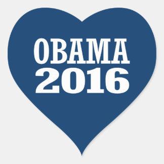 MICHELLE OBAMA 2016 HEART STICKER