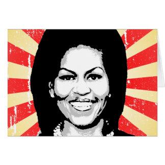 Michelle Obama 2016 Tarjeta