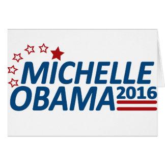 Michelle Obama 2016 Tarjetón
