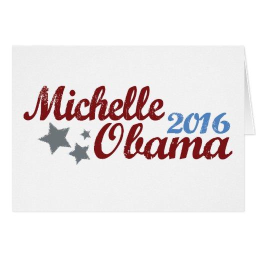 Michelle Obama 2016 Tarjeta De Felicitación