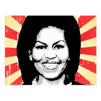 Michelle Obama 2016 Tarjetas Postales