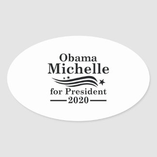 Michelle Obama 2020 Oval Sticker