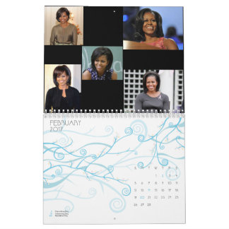 MICHELLE OBAMA, AMERICAN FIRST LADY calendar