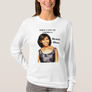 MICHELLE OBAMA, AMERICAS FIRST LADY tee