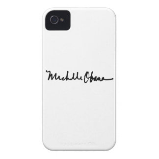 MICHELLE OBAMA AUTOGRAPH - -.png iPhone 4 Cover