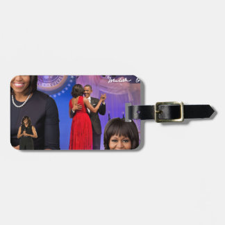 Michelle Obama Bag Tag