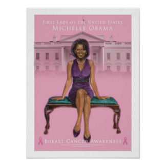 Michelle Obama-Breast Cancer Awareness 15 x 20 Posters