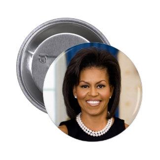 Michelle Obama Button